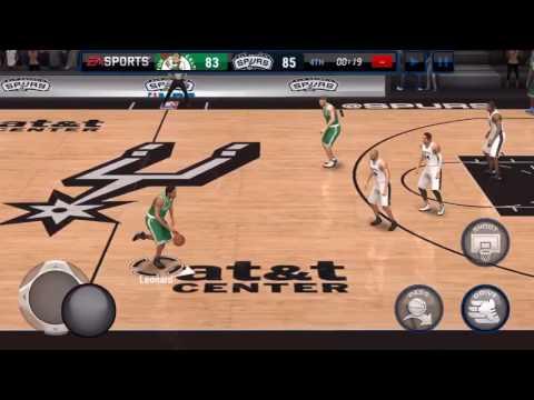NBA Live Mobile Online Matchup #1