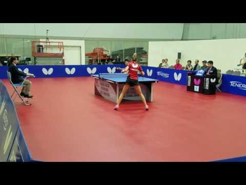 Bo Wen Chen(2575) vs Daniela Monteiro Dodean (2559) - Open Singles (1/8)