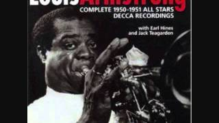 Watch Louis Armstrong Fine And Dandy video