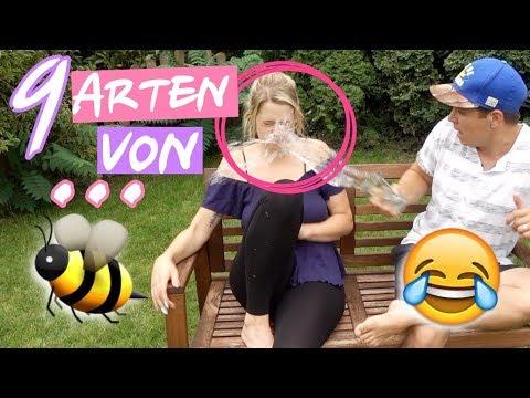 """9 Arten von """"Wespen verscheuchen!"""" 😂🐝"""