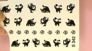 """Sliders spring cats / Слайдеры """"Весенние коты"""""""