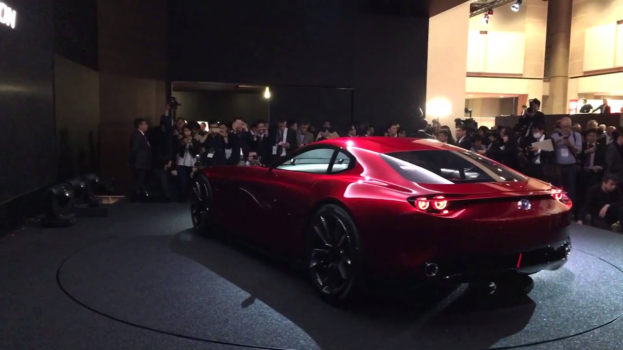 Mazda RX9 Launch Video