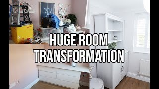 GOODBYE OFFICE | HOME RENOVATION UPDATE AND ROOM TRANSFORMATION | GREAT STORAGE SOLUTIONS