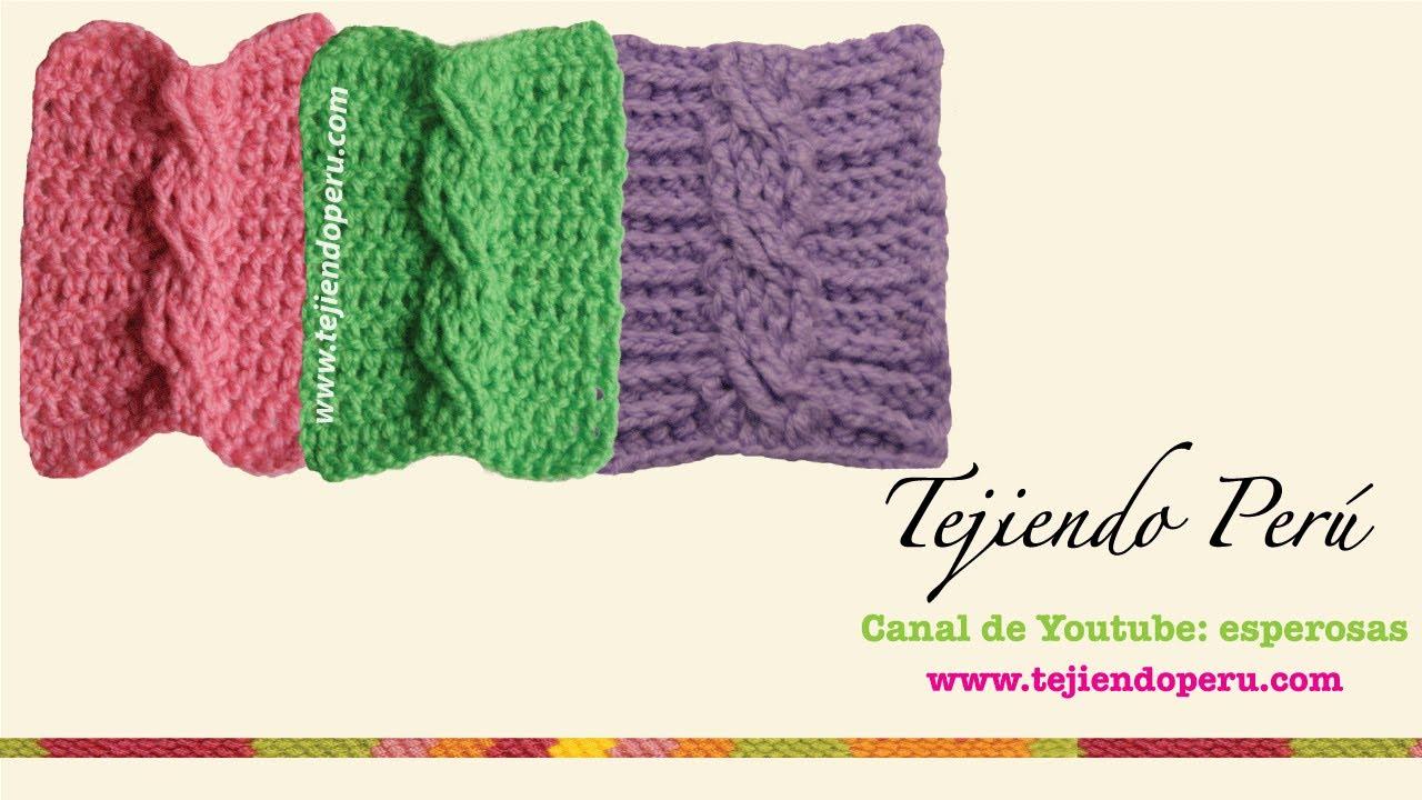 Trenzas u ochos tejidas en crochet youtube - Como hacer ochos de punto ...