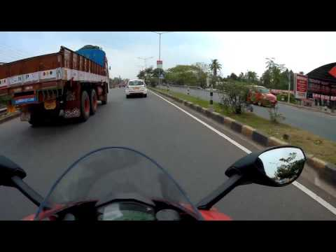 Ducati Panigale 959 first ride - KL, India.