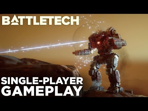 BattleTech — NEW GAMEPLAY & Single-Player Campaign Impressions! (No Spoilers)