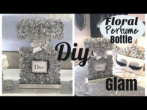 DIY EXTRA GLAM FLORAL PERFUME BOTTLE