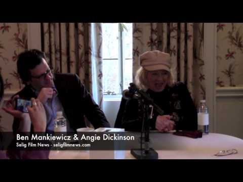 TCM Road to Hollywood: Ben Mankiewicz & Angie Dickinson Roundtable Interview