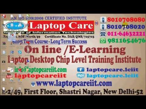 Online Laptop Chip Level Repairing Course Information