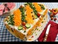 سنجاري - الجزء الأول - موس التونة كعكة السالمون