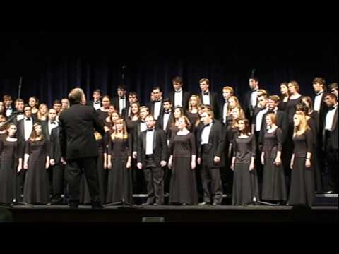 Harding University Chorus - I Open my Mouth to the Lord
