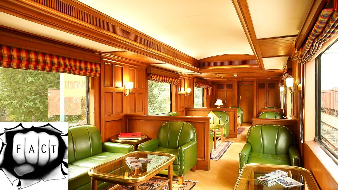 Top 5 Most Luxurious Trains of India  YouTube