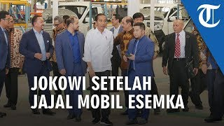 VIDEO Jokowi Jajal Mobil Esemka Bima: Kalau Beli yang Lain Kebangetan!