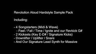 Revolution Aloud Hardstyle Sample Pack