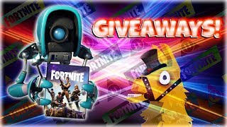 FORTNITE StW : EDITION GIVEAWAYS! & Opening My FAVORITE Llama! | PvE
