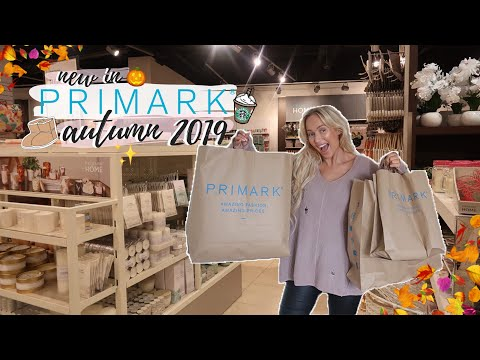 Shop With Me at PRIMARK September 2019! | Autumn Home, Beauty, Fashion