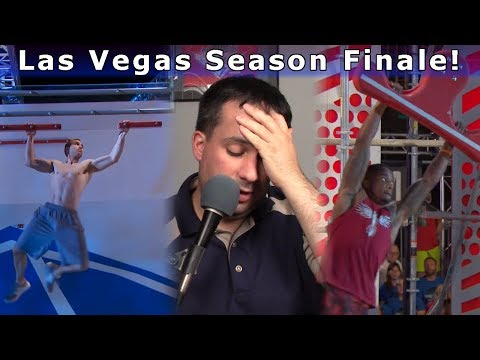 Las Vegas Stage 2, Stage 3 and Final Stage - American Ninja Warrior 9 Review