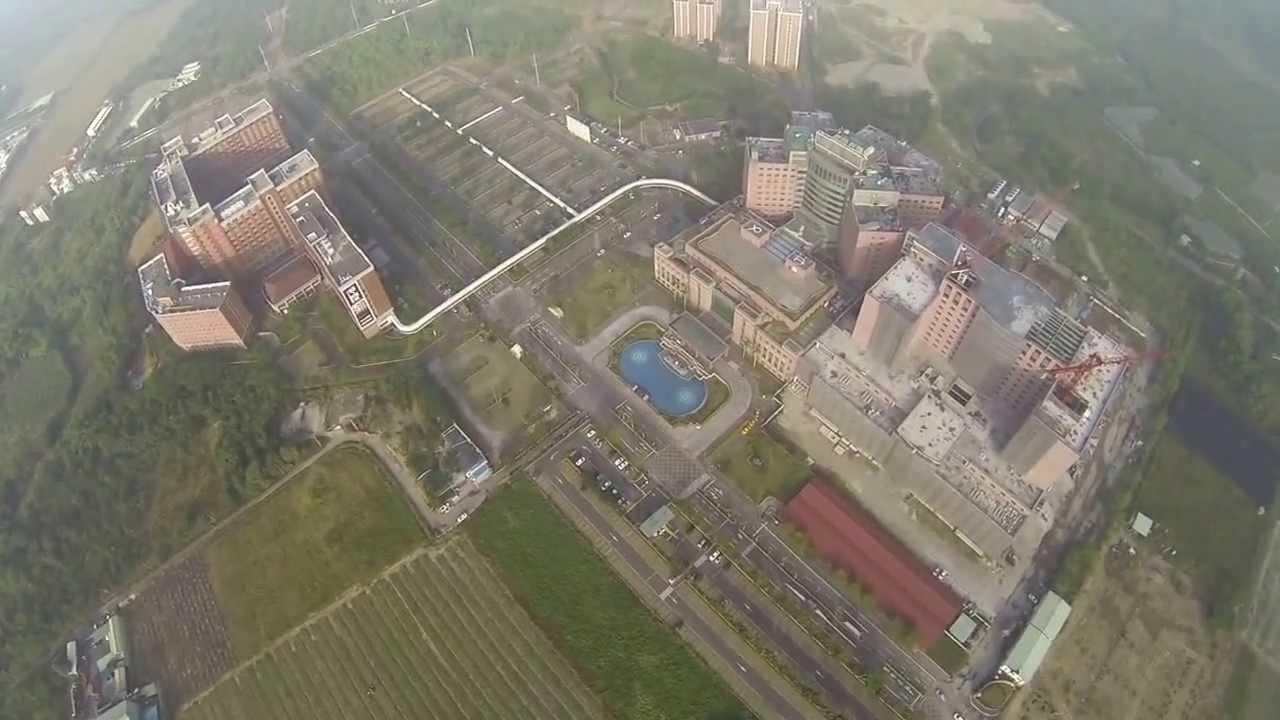義大醫院上空拍攝 - YouTube
