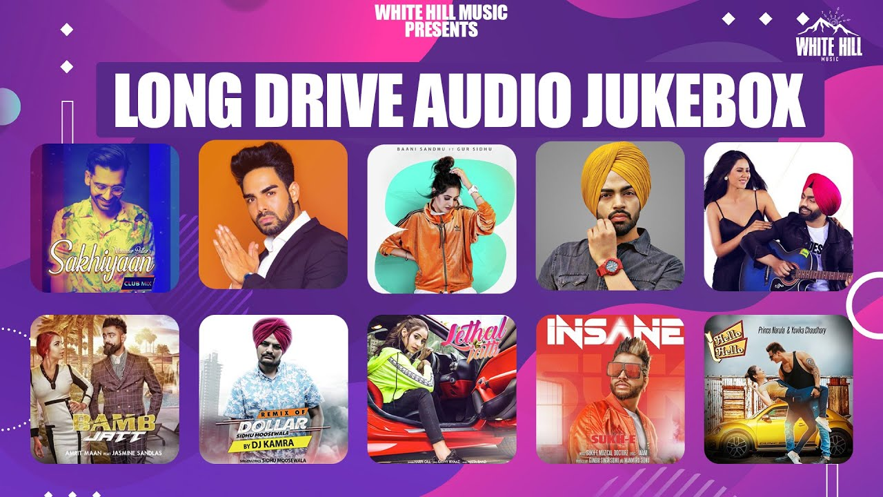 Long Drive Jukebox (Audio Jukebox) | Ammy Virk | Maninder Buttar | Sidhu Moose Wala | Amrit Maan