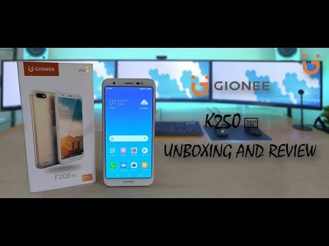 ||GIONEE  F205 PRO|| Review and unboxing ||