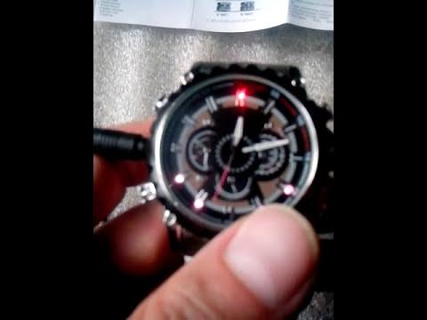 Часы со скрытой камерой и датчиком движения