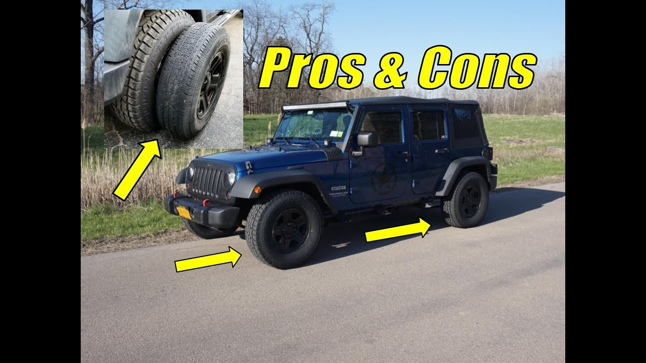 Pros and cons of jeep wrangler unlimited