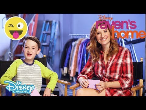 Raven's Home | Who Said That?! Challenge ft Chelsea and Levi | Official Disney Channel UK