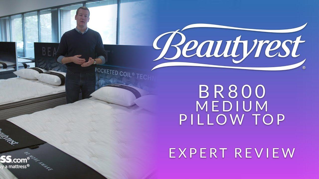 beautyrest br800 medium pillow top mattress expert review