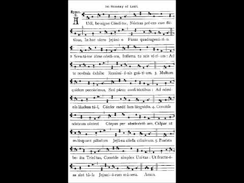 Audi Benigne Conditor - Vespers Hymn