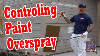 How To Stop Paint Overspray.