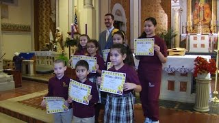 St. Pancras Students Honored as Role Models