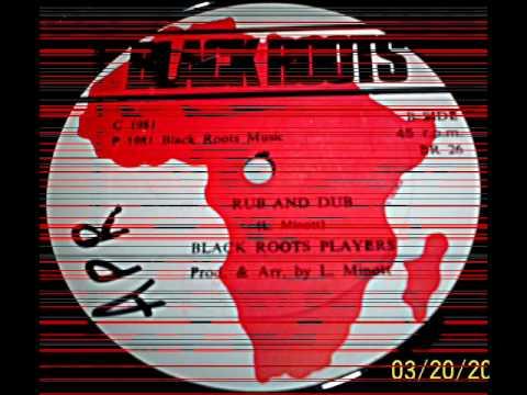 Sugar Minott Rub And Dub Side B - 1981 Black Roots Music - DJ APR