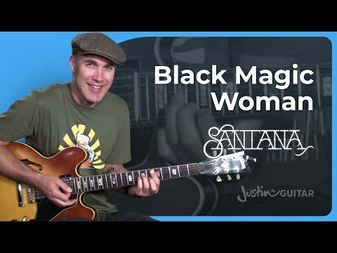 Fleetwood Mac / Santana - Black Magic Woman [RHYTHM] Guitar Lesson Tutorial - JustinGuitar