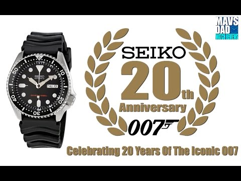 A True Legend! | Seiko 200m Automatic Diver SKX007 20th Anniversary Unboxing And Review
