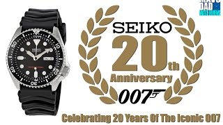 A True Legend! | Seiko 200m Automatic Diver SKX007 20th Anniversary Unbox & Review