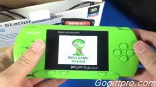 8 Bit PVP Handheld Game Player Review