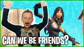 How No Skins Make Friends!