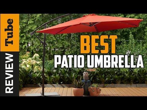 ✅Patio Umbrella: Best Patio Umbrellas 2019 (Buying Guide)
