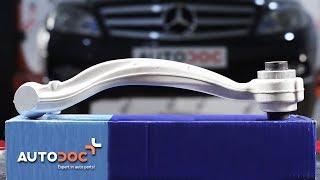 Jak vyměnit přední spodní rameno zadního zavěšení kol na MERCEDES-BENZ C W204 NÁVOD | AUTODOC