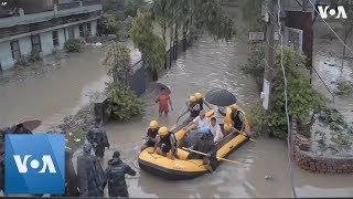 Monsoon Floodwaters Devastate Nepal