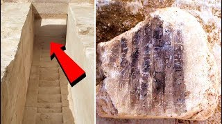 Archaeologists Just Discovered The Entrance To An Unknown 3,700 Year Old Pyramid In Egypt
