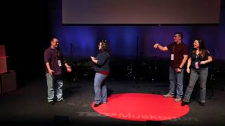 """Whose Tweet is it Anyways - Take II"" at TEDxMuskegon"
