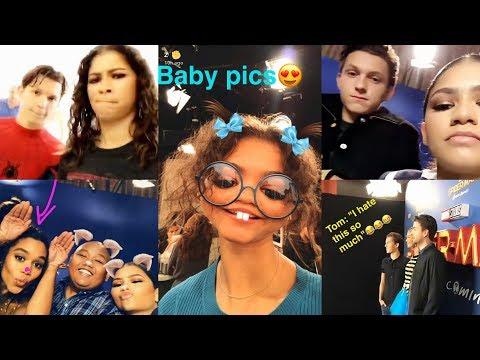 Zendaya  Best Snapchat Moments   2