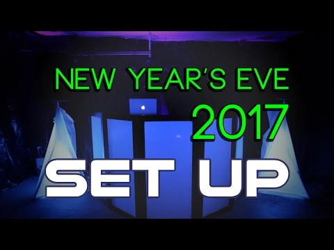 Mobile DJ - New Year's Party - Set Up