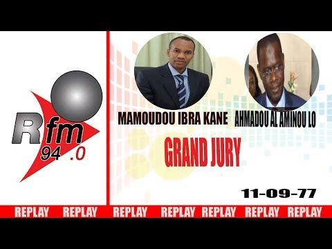 REPLAY AUDIO : GRAND JURY  - invité : AHMADOU AL AMINOU LI - 10 Septembre 2017