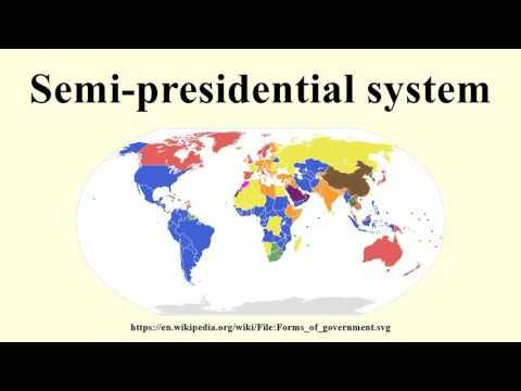 Semi-presidential system