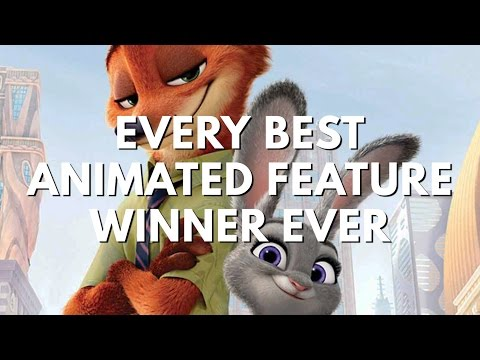 Every Best Animated Feature Winner. Ever. (2002-2017 Oscars)