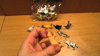 Видео обзор детская игрушка - Все домашние животные - Набор