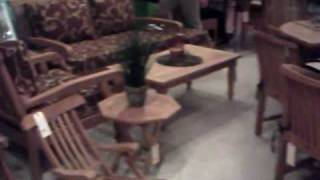 Natural Teak Wood Outdoor Furniture