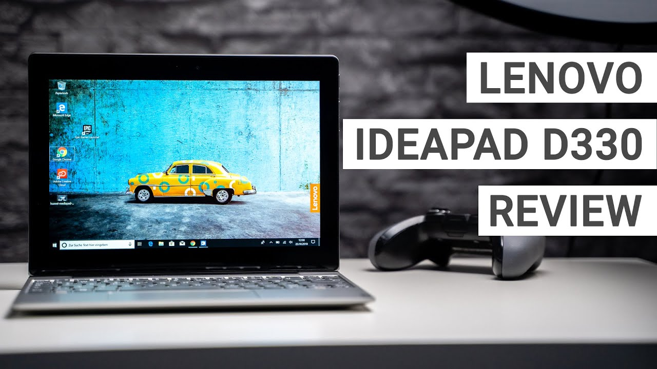 Lenovo IdeaPad D330 Review: A Cheaper Surface Go Alternative
